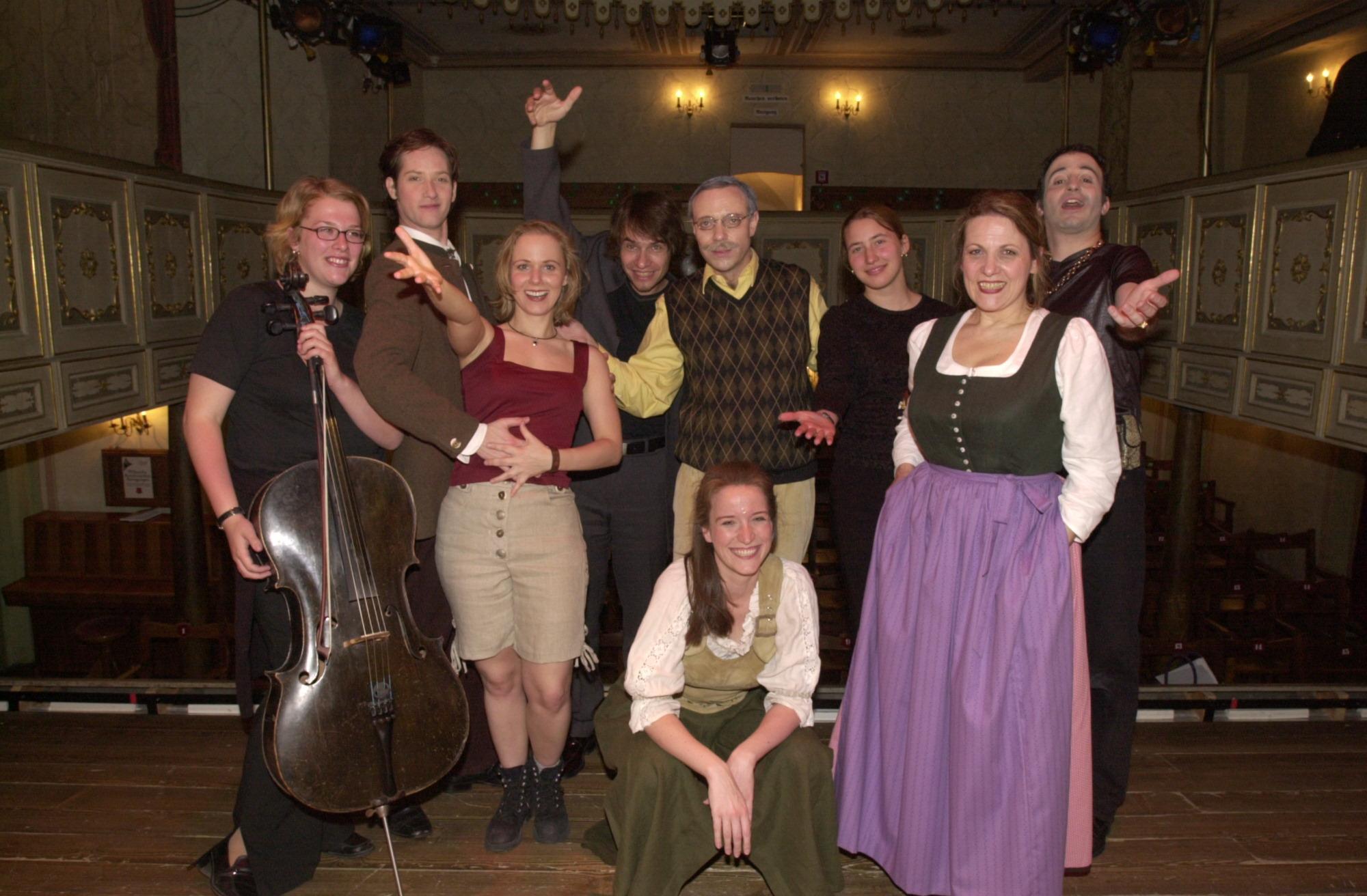 Original Greingold Cast 2002