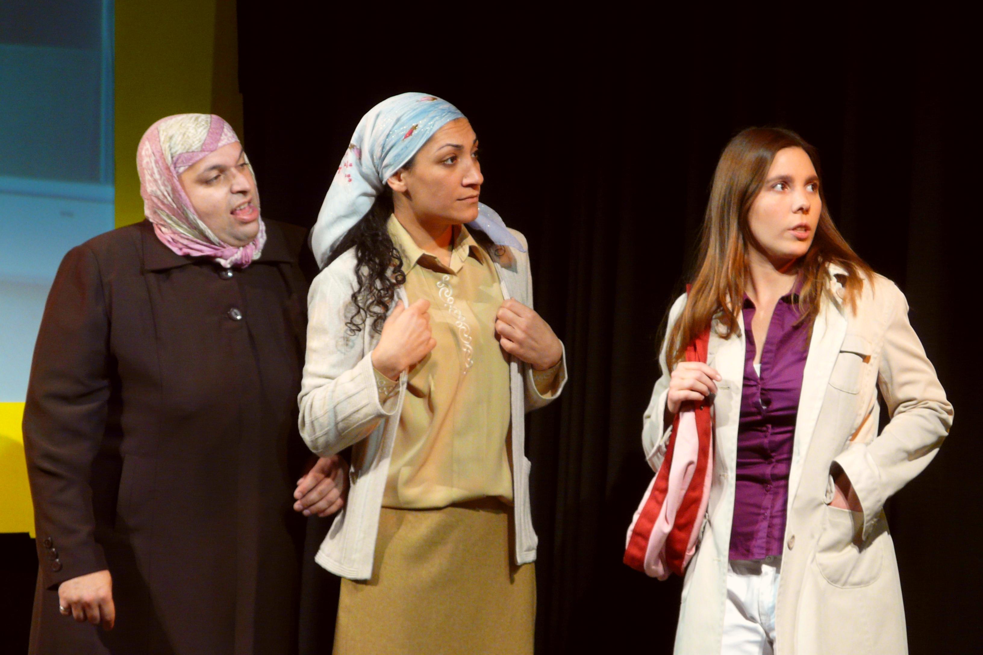 Fatima mit Hazal und Aline