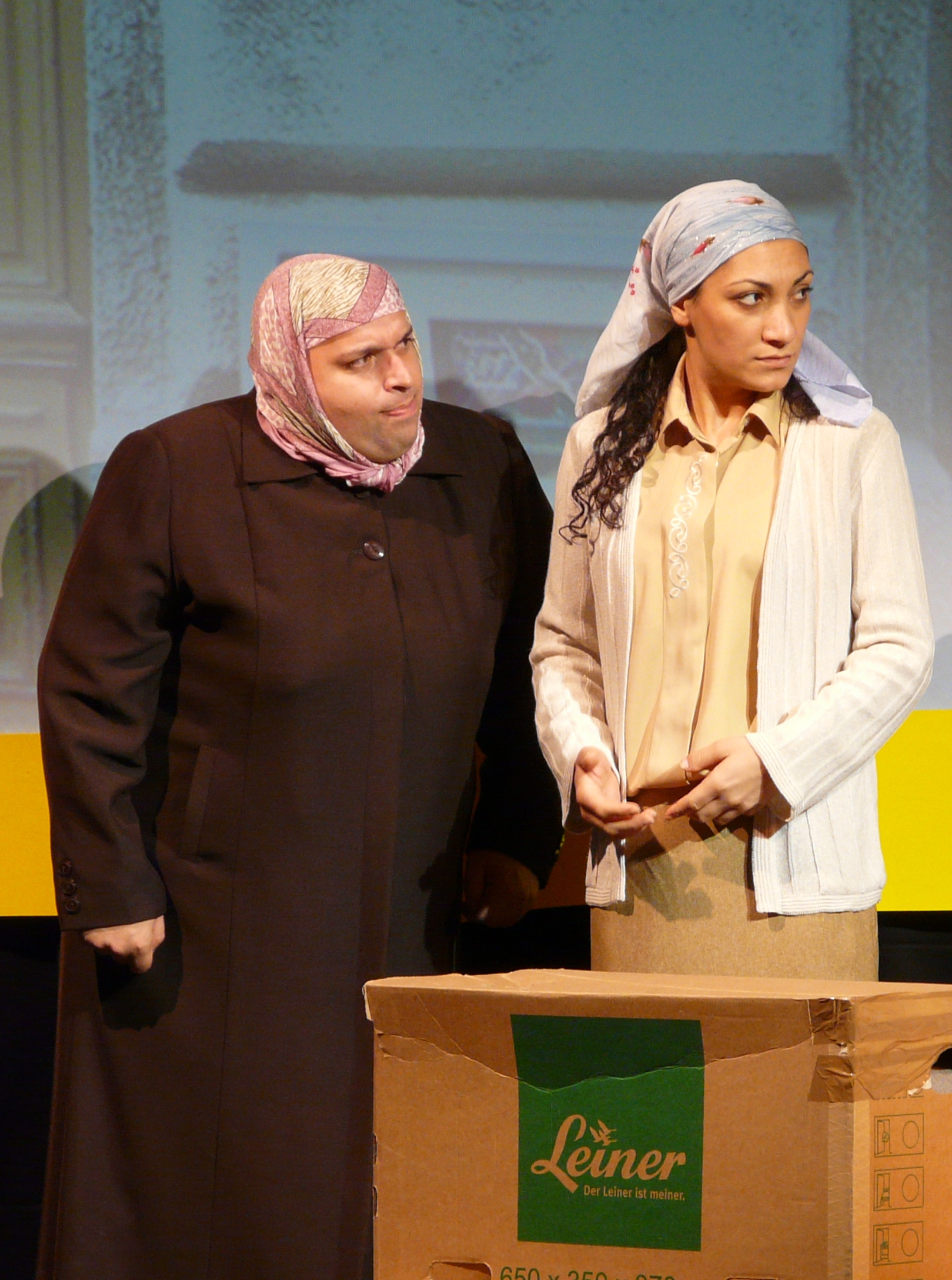 Fatima und Hazal