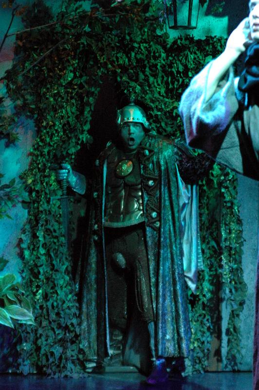 Isidor als Ritter der Greinburg