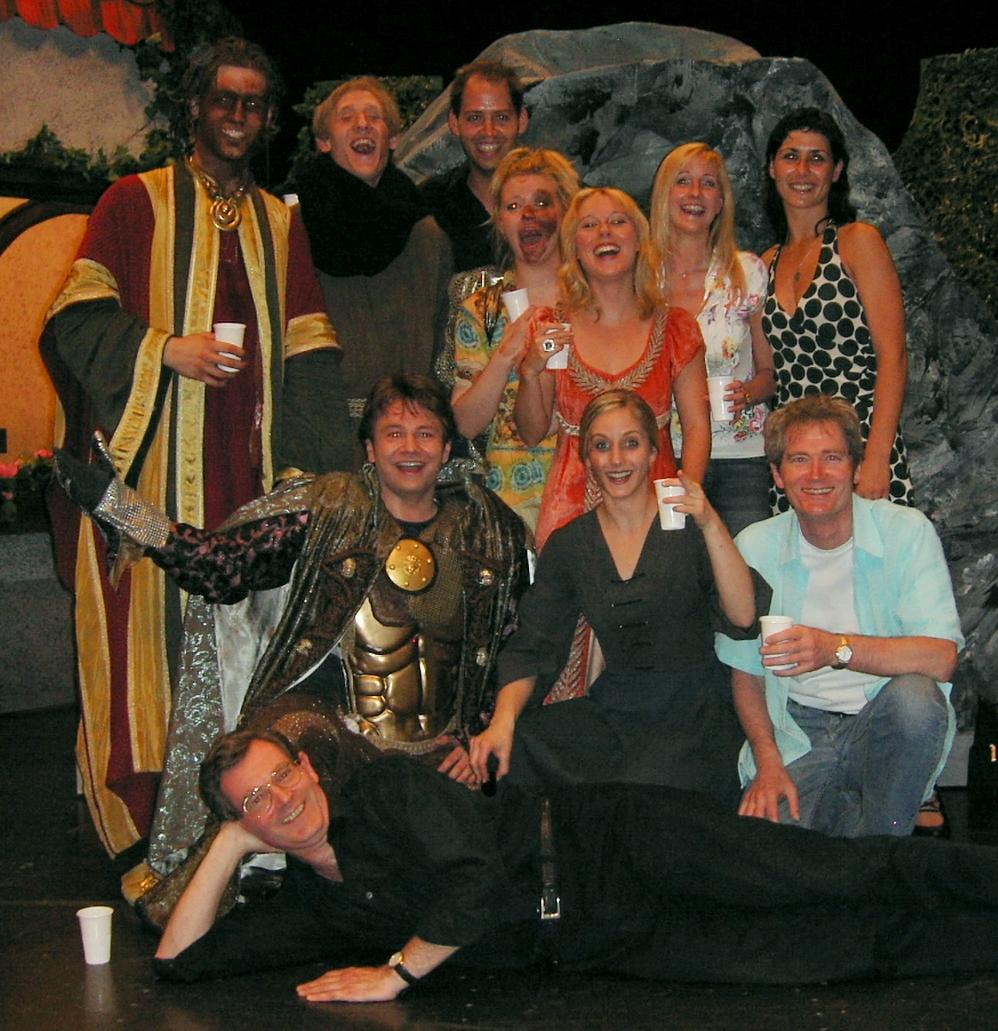 Das Greingold Ensemble 2007 mit Johannes Glück und Wolfgang Groller