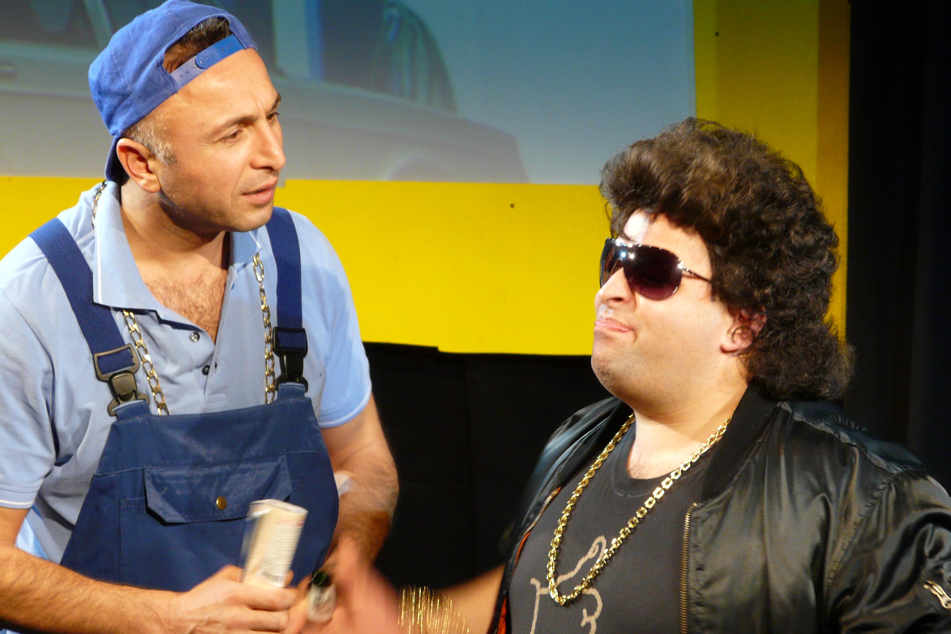 Dusan und Elvis