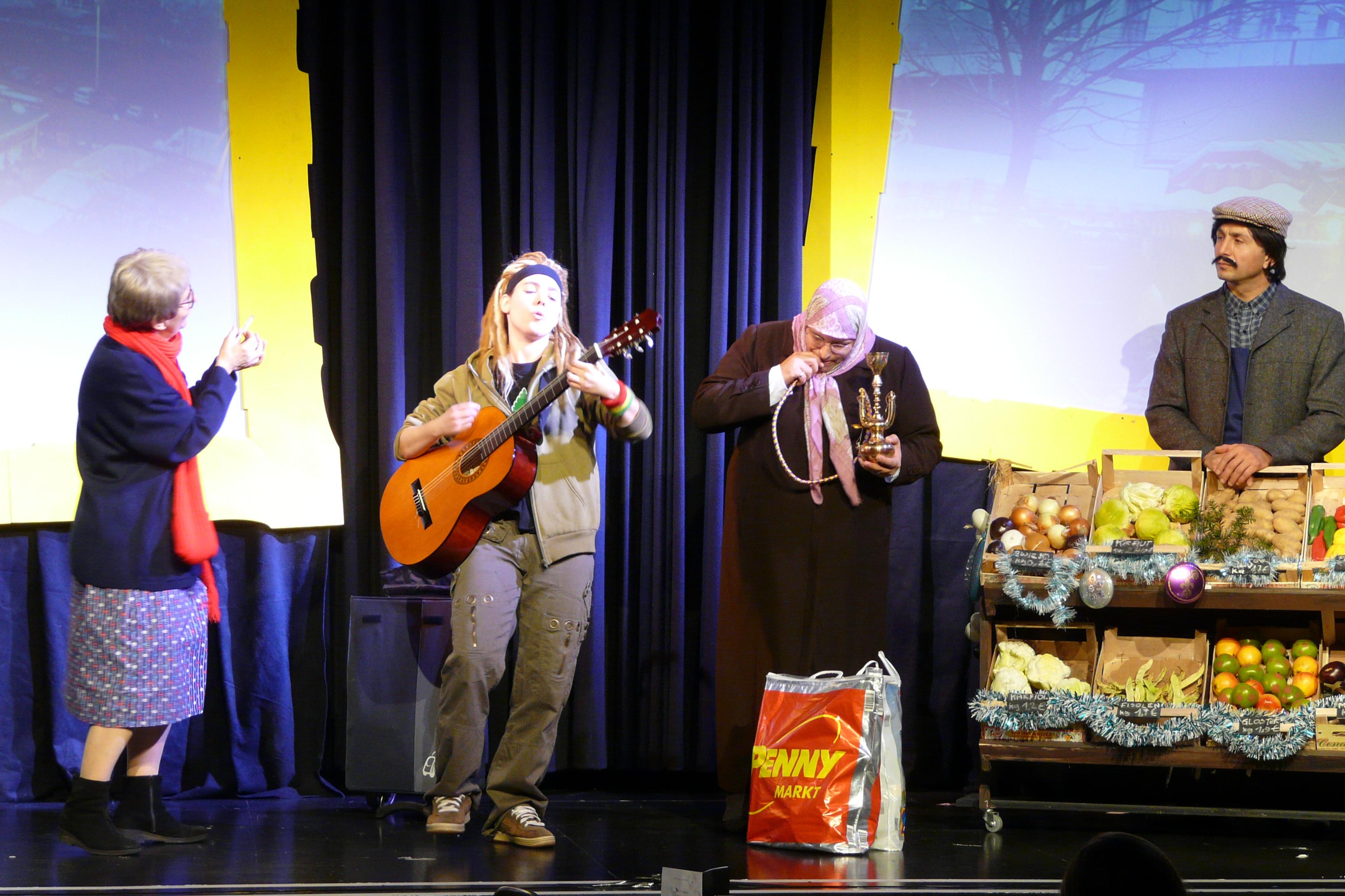 Hippie Song am Hannovermarkt