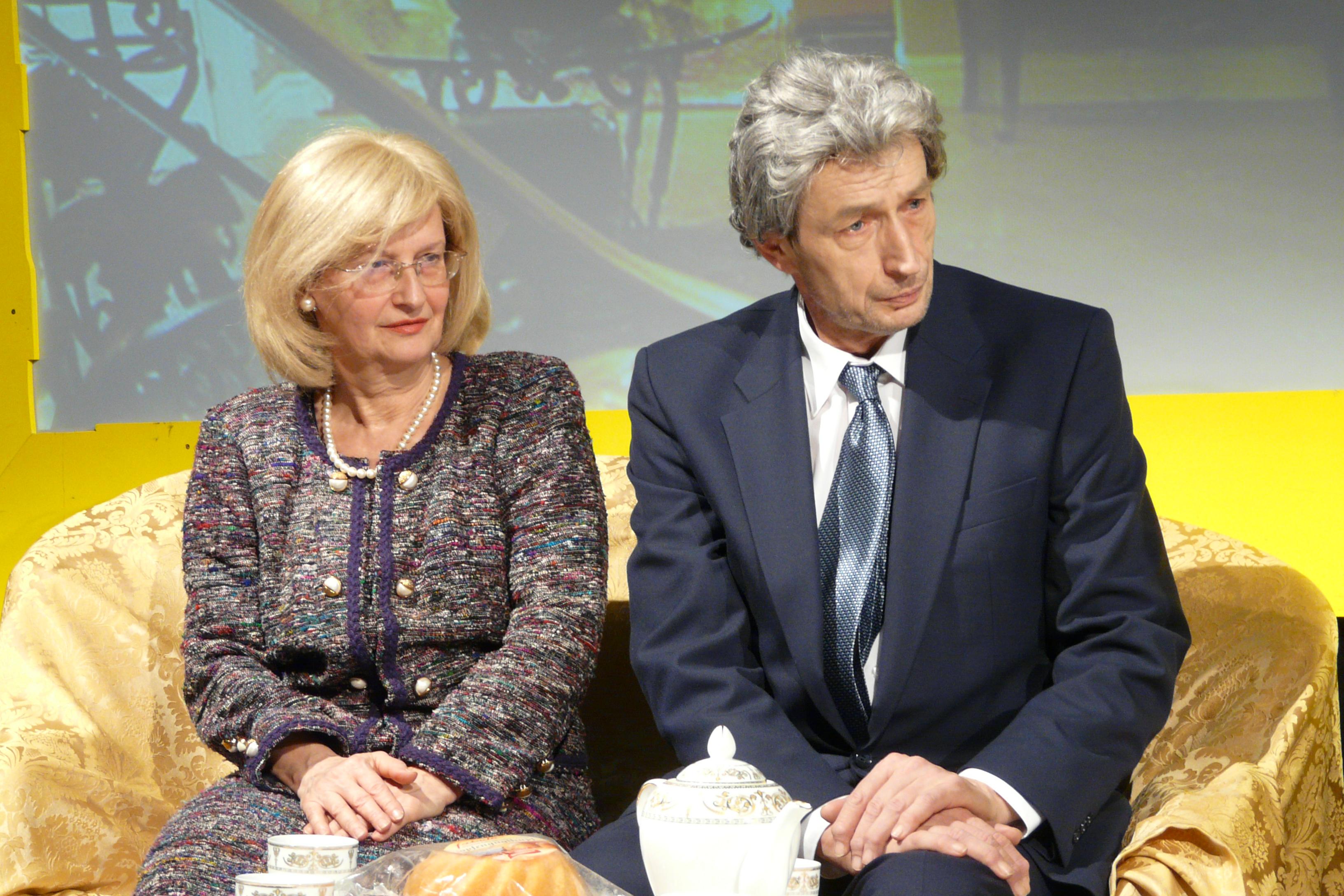 Gerline und Albrecht Degenreiter