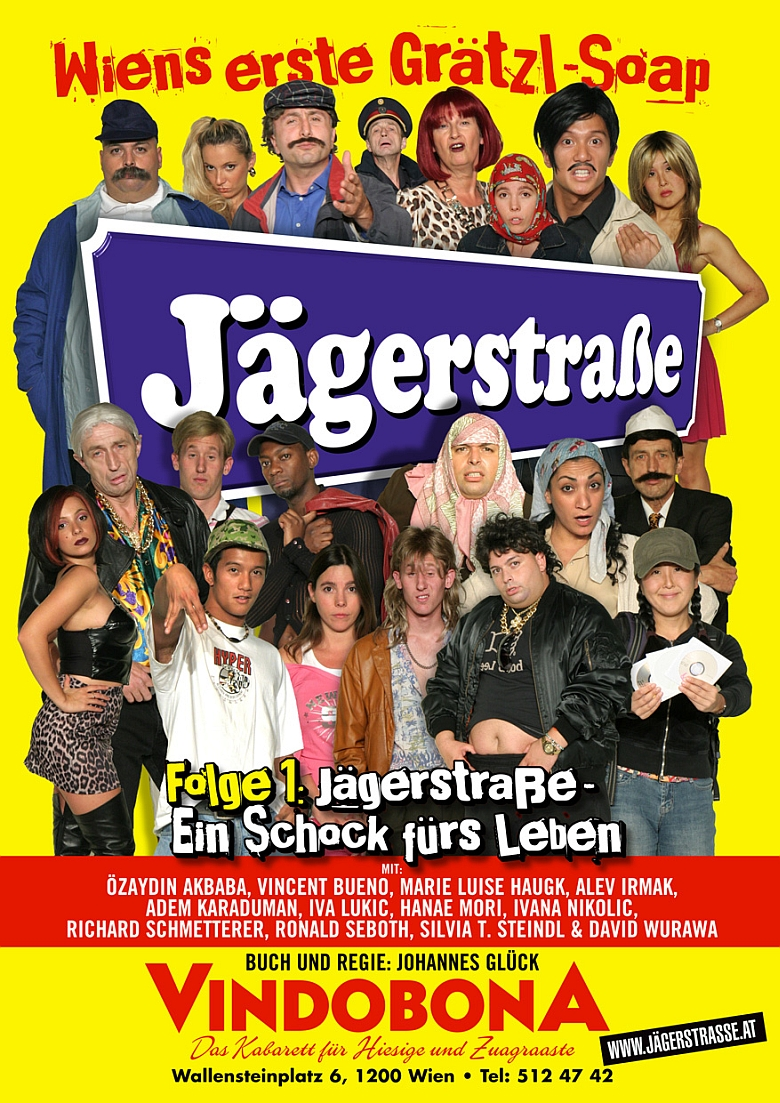 Jägerstraße Plakat Folge 1